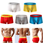 Sexy Men Modal Underwear Men's Boxers U-convex Panties Breathable Wear