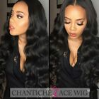 Indian Remy Human Hair Wigs Body Wave Human Hair Lace Front Wigs With Baby Hair