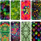 Weed Leaf Leaves Green Elephant Hard Case Cover For iPhone Samsung  Huawie New