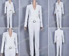 X Men Cosplay White Queen Emma Frost Costume Uniform Charming Ladies Clothing