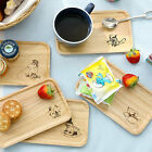 Moomin Character Wood Plate Wooden Tray Moomintroll Little My Plates Small Kids