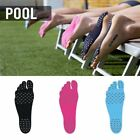 Naked Foot Fit NAKEFIT For Summer Stick On Soles Flexible Feet Beach Pool USAL
