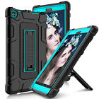 For Amazon Kindle Fire HD 8 8th Gen 2018 Shockproof Rubber Stand Hard Case Cover