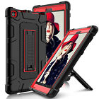 For Amazon Kindle Fire HD 8 7th Gen 2017 Shockproof Rubber Stand Hard Case Cover