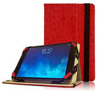 Red 'Doodles' Folio Tablet Case fits 7.5 - 8 Inch Tablet See Menu P9
