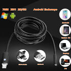 5/7/8mm 1-10M LED Android Endoscope USB Waterproof IP67 Borescope Inspection Cam