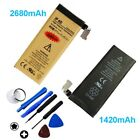 High-Capacity Internal Li-ion Replacement Battery for iPhone 4 4S 5 5S 6 6S Plus