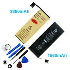 High-Capacity Gold Li-ion Replacement Battery for iPhone 4 4S 5 5S 6 6S 7 Plus +