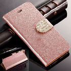 Bling Glitter Leather CardSlot Stand Wallet Case Cover for iPhone6 6s Plus SE 5s