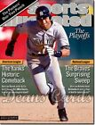 Sports Illustrated October 22 2001 -  Derek Jete  SI  Has Address Label on Front