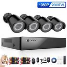 8 Channel 8*1080P AHD  Security DVR CCTV Camera HDMI Video system IP6v