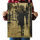 Vintage Retro One Piece Poster Kraft Paper Antique Music Poster Bar Wall Decor