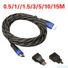 1080P HDMI Cable & HDMI to Mini & Micro Adaptor Kit For Android Tablet PC TV New