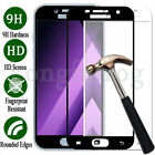 Full Cover 9H Tempered Glass Screen Protector Film  Samsung Galaxy A3 A5 A7 A8+