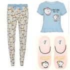 Primark Ladies Disney Mrs Potts Chip Pyjamas Womens Pajamas Bnwt