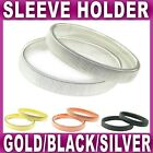 2x Shirt SLEEVE HOLDER arm bands garter elasticated metal band mens sleeves NEW