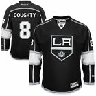 Mens Los Angeles Kings 8 Drew Doughty Black Jersey
