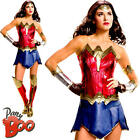 Ladies Sexy Wonder Woman Dawn of Justice Superhero Fancy Dress Adult Costume New