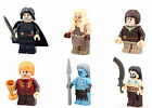 Game of Thrones Minifigure Fits Lego Arya Stark Jon Snow Khaleesi Mini Figure