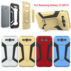 Heavyduty Shockproof Defender Kickstand Case Cover For Samsung Galaxy J7 2017