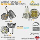 UK GU10 DIMMABLE 6W 8W 9W Energy Saving Warm/Cool White LED Light Bulb Spotlight