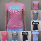 HOLLISTER GIRLS T SHIRT ALL SIZES NWT white Pink blue red gray black