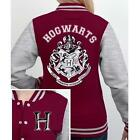 Harry Potter - Hogwarts Varsity Baseball Jacket - New & Official Warner Bros