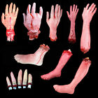 Creative Terror Bloody Fake Body Hands Parts Severed Arm Hand Halloween Prop New