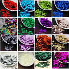 Внешний вид - 6mm Round Loose Sequins Paillettes DIY Sewing Decor for Clothing Bag Shoes New