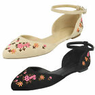 Wholesale Ladies Flower Design Ballerinas 18 Pairs Sizes 3-8  F80317