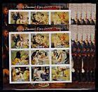 10x Art Painting Georg Emanuel imperf. Privat Local Issue (M4) Wholesale not MNH