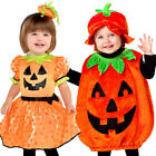 Baby Pumpkin Toddler Fancy Dress Halloween Jack o Lantern Infants Girls Costumes
