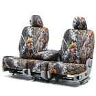 Custom Fit Seat Cover for Ford E-450 Super Duty In Mossy Oak Front & Rear