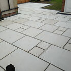 Kandla Grey Natural Indian Sandstone Sawn & Shotblasted (Different Variations)