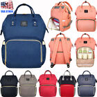 US LAND Multifunctional Changing Bag Waterproof Mummy Backpack Baby Diaper Nappy