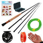 Fly Fishing Rod with Reel Line Flies Combos Fly Fishing Box Fly Fishing Kits