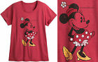 """MINNIE MOUSE VINTAGE STYLE """"DAISY"""" PLUS SIZE TEE FOR WOMEN DISNEY STORE"""