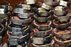 Zodic & Symbol Bracele LEATHER Cuff Adjustable Ankle Bronze Brown Lot of 48