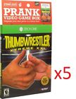 5 count Prank Pack Game Sleeve: Thumbwrestler Xtreme XXL for ZBOX One