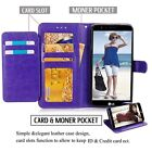 Dual Card Holder Wallet Leather Book Flip Case Cover For Samsung Galaxy Note 8