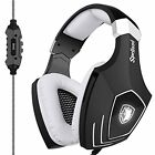New Arrival A60 USB Headsets Gaming Computer Over Ear Stereo Heaphones With LED