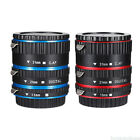 Lasting Metal Auto Focus AF Macro Extension Tube Ring For CANON Camera EF-S Lens