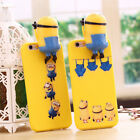 3D Cute Cartoon With Doll Animal Soft Silicone Phone Case Cover For Apple iPhone