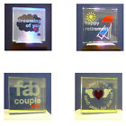 Star Crystal Message Blocks In Presentation Box Different Messages Sentiments