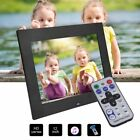 "10/12/15""HD LCD Digital Photo Frame with Multimedia Playback With Touch Butto L"