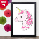 UNICORN Gifts for Best Friends - Personalised Christmas Birthday Unicorn Present