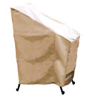 Stack of Chair Covers Heavy weight 380gm PVC Coated Polyester Hearth and Garden