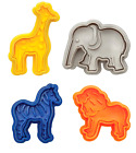 Cookie Cutters Baking Animal Cracker For Decorative Animal Cookies Set Of 4 Pcs