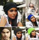 Womens Mens Unisex Slouch Beanie Skullie Hip Hop Winter Summer Fashion Hat