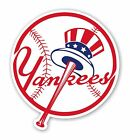 New York Yankees   Decal / Sticker Die cut